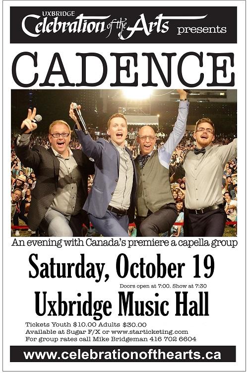 Cadence - Oct 19 7:30 PM