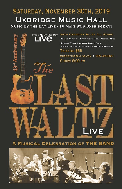 The Last Waltz - Nov 30 8:00 PM