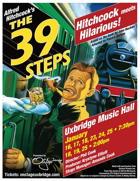 The 39 Steps: Jan 16 - 25