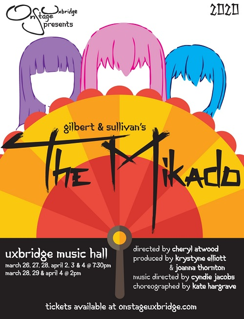 The Mikado: March 26 - April 4